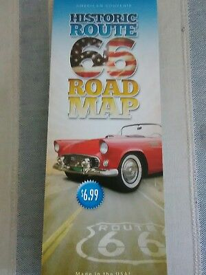 HISTORIC ROUTE 66 TRAVEL ROAD MAP CHICAGO TO LA 93rd 2019 EDITION! BEST GUIDE!!