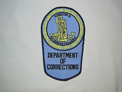 Virginia Department Of Corrections Shoulder Patch