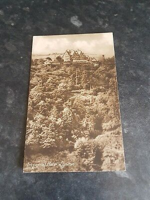 Imperial Hotel Lynton Rare Image Local Publisher Unposted