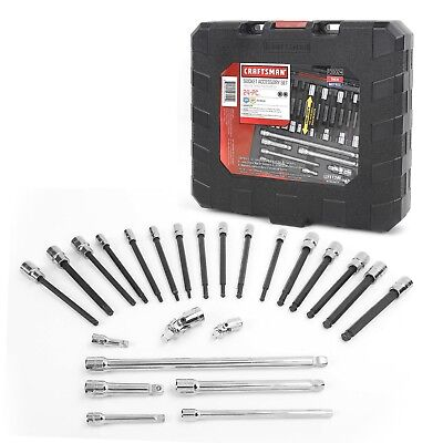 Craftsman 24pc Reach and Access Add-on Set 30024 Hex Bit Sockets Extension Bars