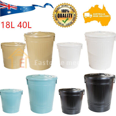 Garden Compost Bin Waste Compost Food Home Recycling Tumbler Scrap Trash 18 40L