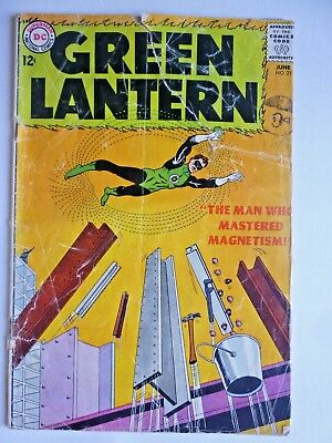 Green Lantern 21 June 1963 DC Comics Silver Age 1st Dr Polaris