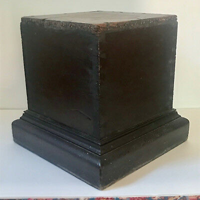 19th century plinth hand-dovetailed original surface