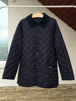 BARBOUR D349 MEN'S LIDDESDALE QUILTED JACKET NAVY MQU0001NY91 Size M