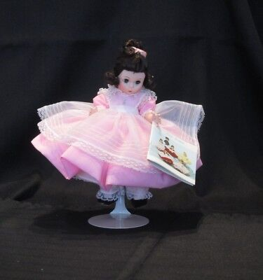 "Madame Alexander 8""doll Little Women Beth with box and hang tag Vintage 1980s"