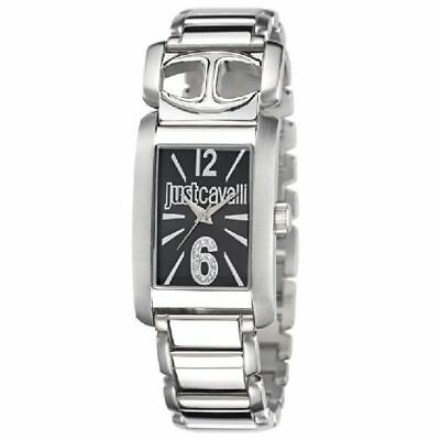 "Montre Only Time Femme Just Cavalli ""Pretty"" R7253152501 Affaire Acier Noir"