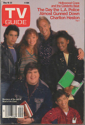1987 TV Guide Head of the Class Cast May 16-22 NO LABEL
