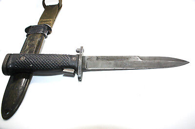 VINTAGE US ARMY M5 FIGHTING KNIFE GARAND BAYONET W/ M8A1 SCABBARD by IMPERIAL