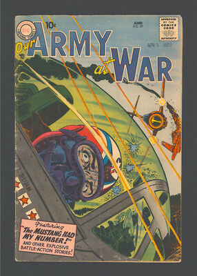 OUR ARMY AT WAR #59 and #61. Published by D.C. in 1957.