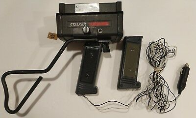 Applied Concepts Stalker LIDAR Laser Speed Gun w/ Cord and Battery - #20