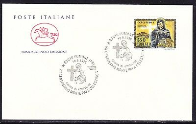 "Italy 1996 -  750 Lira St Celestine ""Official"" First Day Cover"