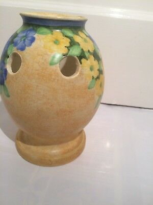 E Radford  vase unusual shape