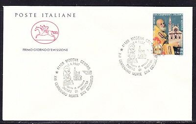 "Italy 1997  - 750 Lira St Geminian ""Official"" First Day Cover"