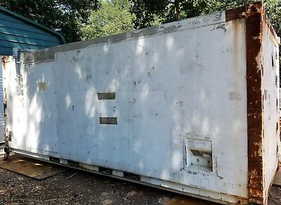 Military 20 ft Connex Navy Container Mobile Facility Insulated Electric Storage