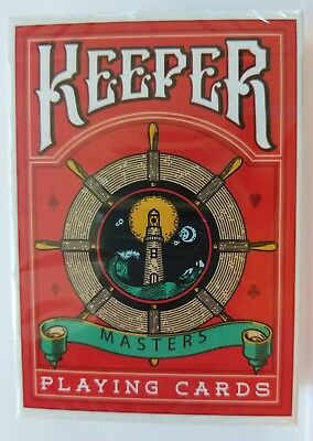 Keeper Reds Version 2 Marked Playing Cards - Ellusionist