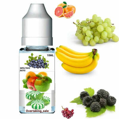 e-liquid juice vape oil fruits flavours BEST QUALITY buy 3 get 4 mixing 30%/70%