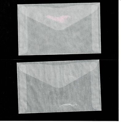 JBMGlassine- 25 Brand New Glassine Envelopes Size #4-1/2  (3-1/8 x 5-1/16)