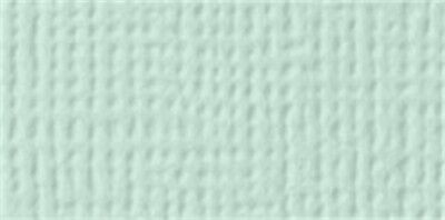 """American Crafts Textured Cardstock 12""""X12""""-Spearmint - 25 Pack"""