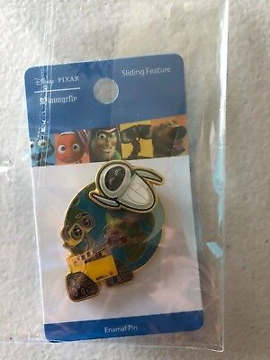 Wall-E Pin Disney Pixar Loungefly Wall E and Flying Eve Sliding WallE Boxlunch
