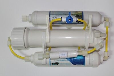 Equipment reverse osmosis aquariums 75GPD.