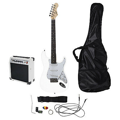 Johnny Brook Standard Guitar Kit 20W Colour Coded Combo Amplifier Colour White