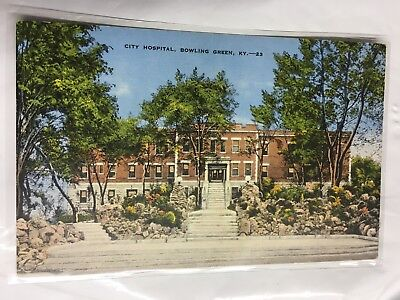 1930'S THE CITY Hospital in Bowling Green, KY Kentucky PC - Unused