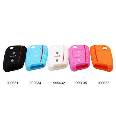 New Silicone Car Key Case Remote Cover For Volkswagen one