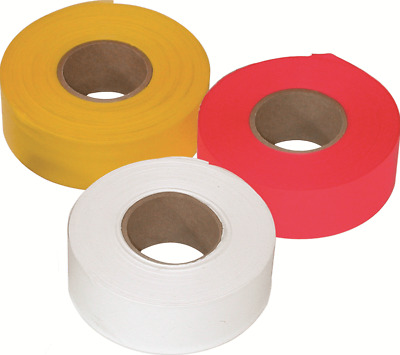 Prosafe FLAGGING TAPE 25mmx100m Superior Visibility & Stretchability YELLOW