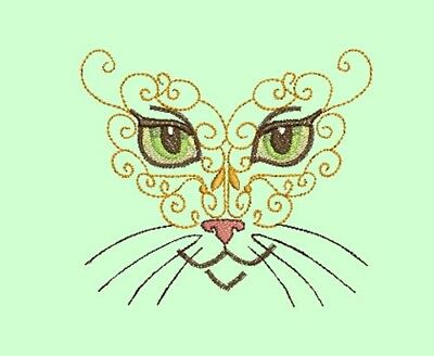 Mystic Cats -  20 Machine Embroidery Designs