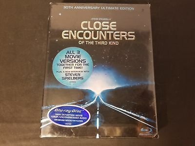 SEALED Close Encounters Of The Third Kind 30th Anniversary Edition Blu-Ray NEW