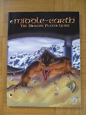 Middle Earth DRAGONS PLAYER GUIDE - METD Rule Book lotr MECCG ICE #3337 MERS ICE