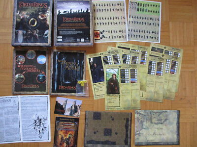 Lord of the Rings – Roleplaying Adventure Game – unpunched complete English Deci