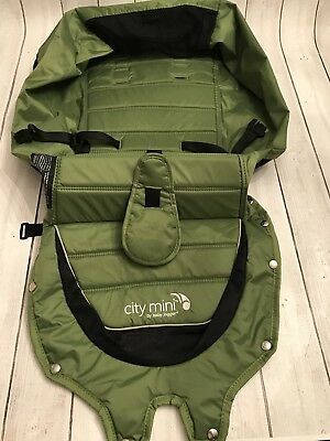 City Mini Baby Jogger Replacement Fabric For Seat Green