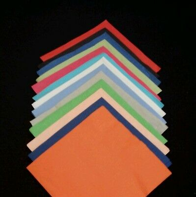 300 Personalized Napkins(2 Ply) Cocktail / Cake Size (Various Colors)