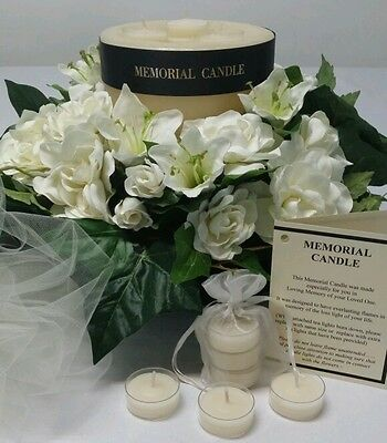 Sympathy Memorial Candle (For those who have lost a loved one)