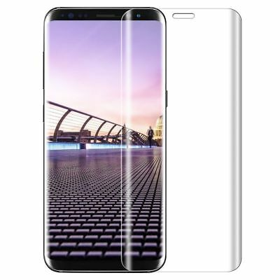 3D Panzerfolie Samsung Galaxy S8 3 D Curved,9H Full Screen Schutzfolie Glasfolie