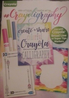 Crayoligraphy Hand Lettering Farmhouse Crayola Calligraphy Create Share NEW