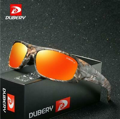 DUBERY Men Sport Polarized Sunglasses Outdoor Driving Riding Fishing Glasses