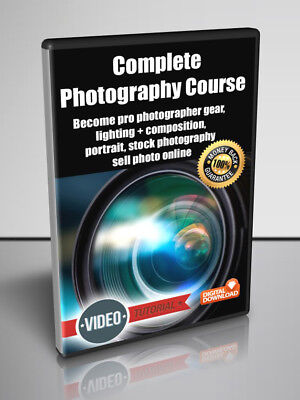 Complete Photography Course  - Video Tutorial for Digital Download