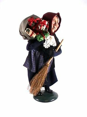byers choice carolers 1995 old befana italian christmas witch - Italian Christmas Witch