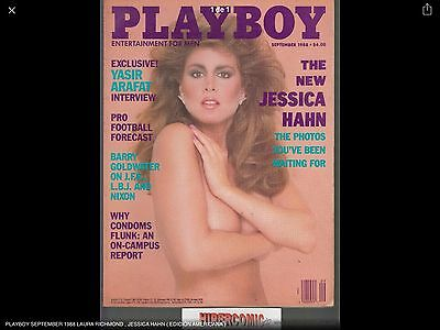 Playboy September 1988 Laura Richmond , Jessica Hahn