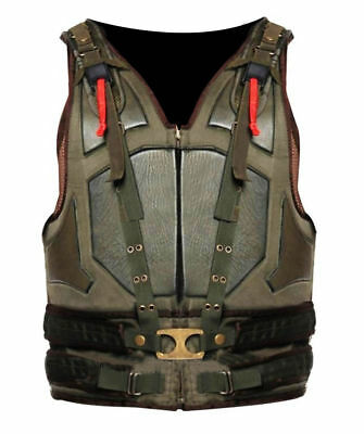 Dark Knight Rises Bane Vest Military Tactical Tom Hardy Costume Faux Leather