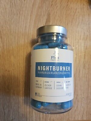 Nightburner Apfelessig Fatburner Kapseln - Made in Germany I Gentechnikfrei,...