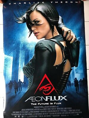 ORIGINAL Aeon Flux 27x40 DS POSTER double 2 sided Charlize Theron 2005