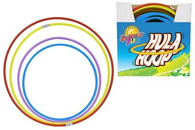Hula Hoops Twist Plastic Kids Adult Fun Playing Fitness Exercise Yoga Gymnastic