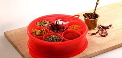 Tupperware Spice It- Masala Dabba Spices Box Container with Spoon Free Ship
