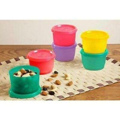Tupperware Snack Cups -125ml Perfect Small Storage Container With Lid set of 2