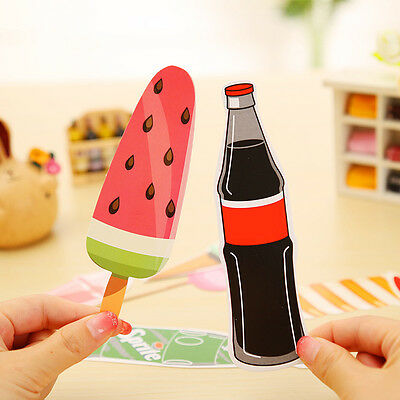 One Box Cartoon Pattern Bookmark Novelty Book Marker Label Kid Gifts New. New