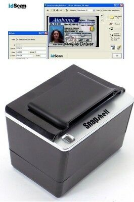 NEW ACUANT / ScanShell / SNAPSHELL R2 IDR Reader / iDscan Software & License Key