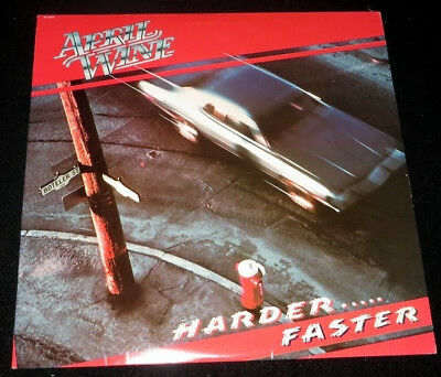 April wine - Harder…faster, LP 1979
